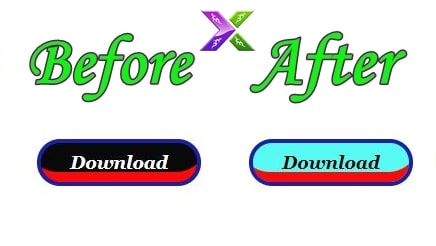 html download button